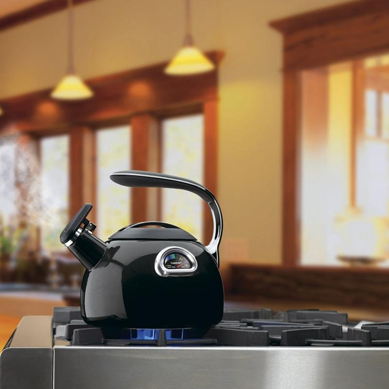 Cuisinart PTK330BK 3-Quart PerfecTemp Tea Kettle - Black