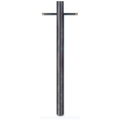 Gaslite America P99 7 Foot 9 Inch Black Steel 3 Inch Gas Light Post With Ladder Rest