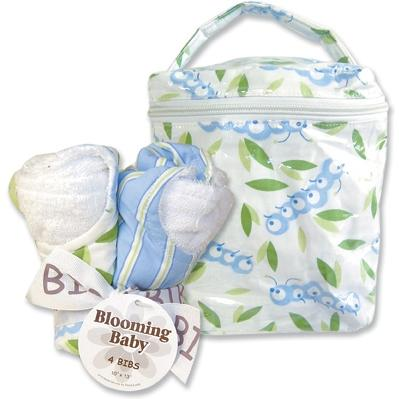 Trend Lab Bottle Bag And Bib Set - Caterpillar