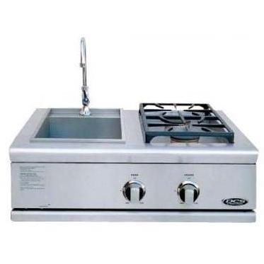 DCS BFG30BSN Liberty Natural Gas Side Burner And Sink Built In