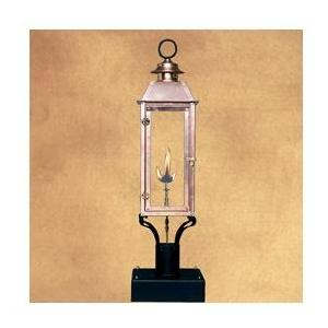 Legendary Lighting Vulcan 1 Copper Natural Gas Light With Post Bracket