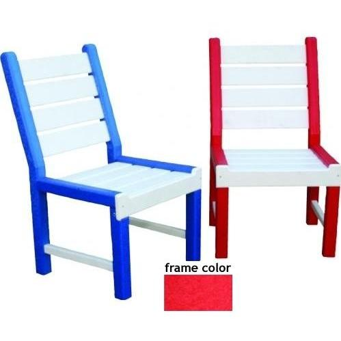 Eagle One Recycled Plastic Kids Chair - Red
