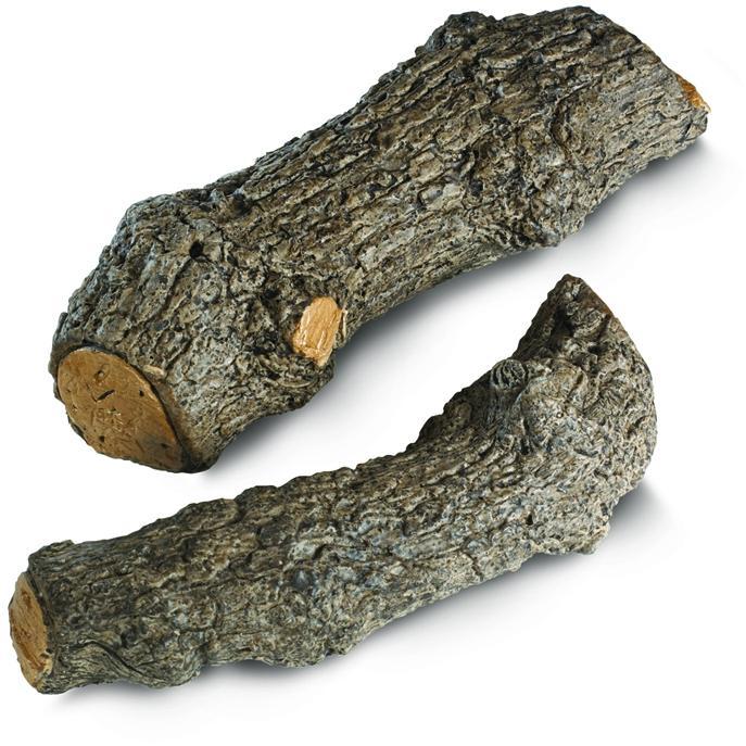 Peterson Gas Logs Decorative Special Designer Logs - Set Of 2