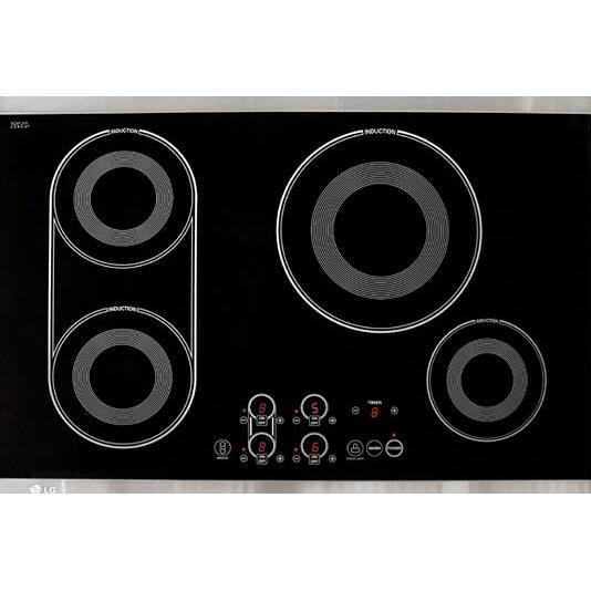 LG Cooktops 30 Inch Electric Induction Cooktop - LCE30845