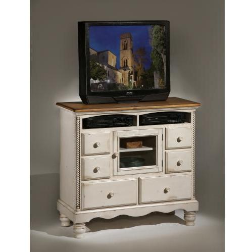 Hillsdale Wilshire Tv Chest - Antique White - 1172-790