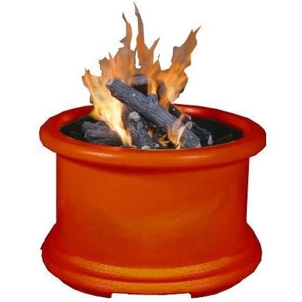 California Outdoor Concepts Island Series Burnt Orange Fire Pit