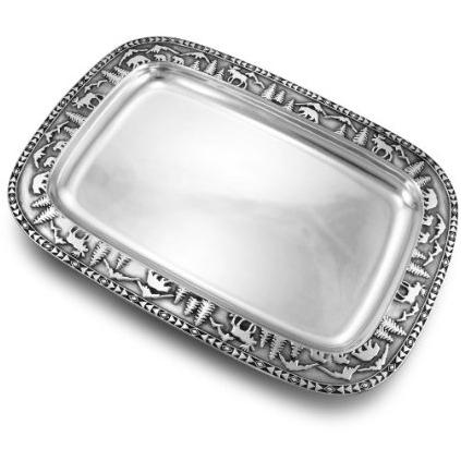 Wilton Armetale Rocky Mountain Med Rectangular Tray - 874048