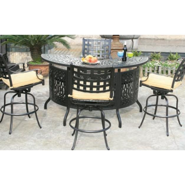 Alfresco Home Chateau Bar Set - Antique Topaz