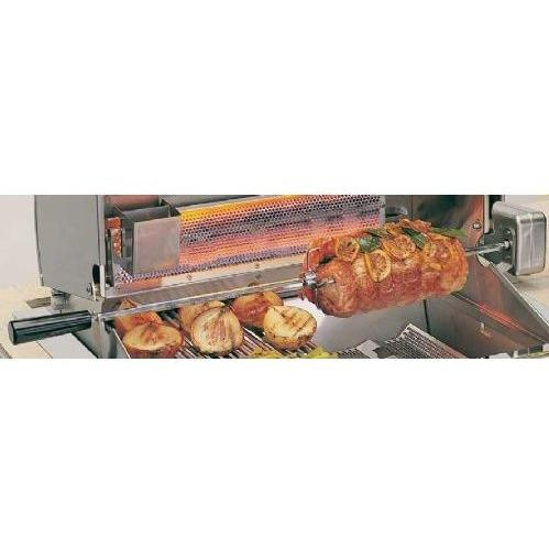 Fire Magic Heavy Duty Grill Rotisserie Kit For Aurora A530 And A430 Series Gas Grills