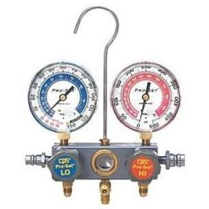 CPS Products R134a Pro-Set Aluminum Block Manifold Gauge Set With Hoses