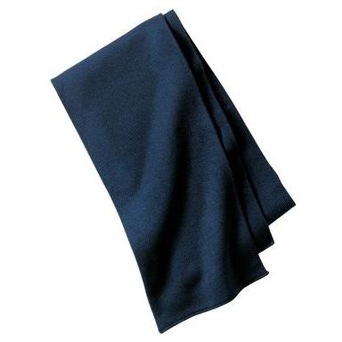 Port & Company Knitted Scarf - Navy