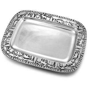 Wilton Armetale Rocky Mountain Small Rectangular Tray - 874046