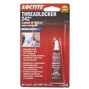 Loctite 242 Threadlocker Medium Strength - 6ml Tube