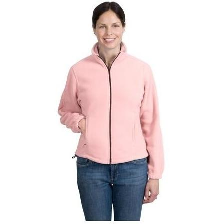 Port Authority Ladies R-Tek Full-Zip Fleece Jacket 3XL - Light Pink