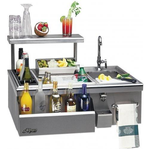 Alfresco 30 Inch Bartender With Sink - Built-in
