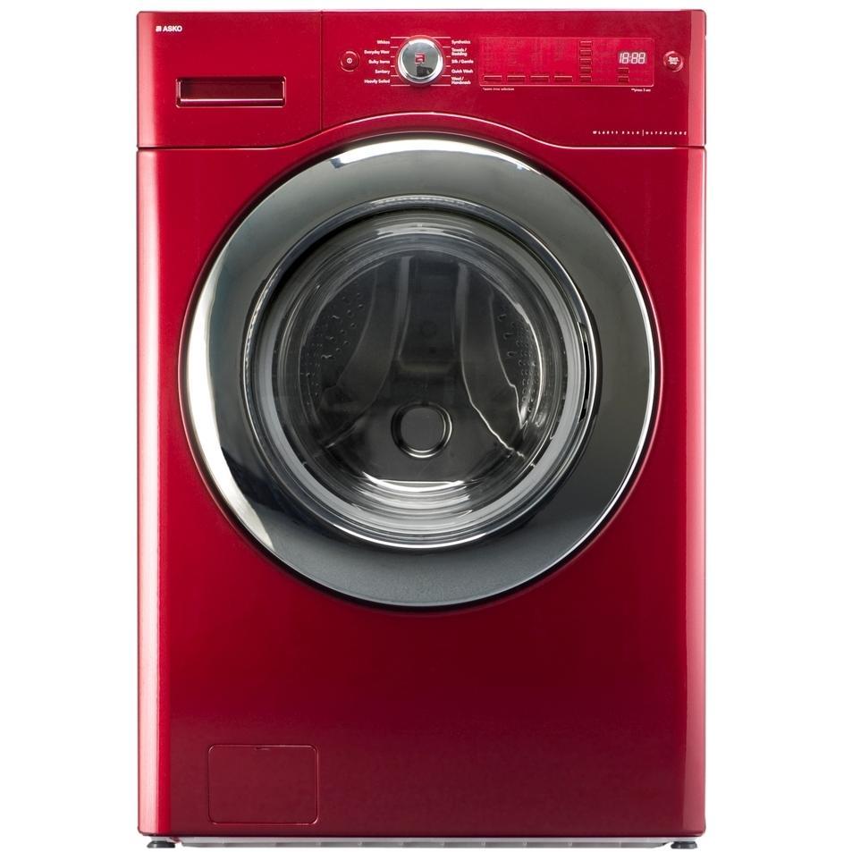 ASKO Washers UltraCare XXL Capacity Washer - Ragin Red