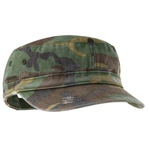 District Threads Distressed Military Hat - Military Camo