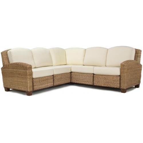 Home Styles Cabana Banana L-Shaped Sectional Sofa - Honey - 5401-62