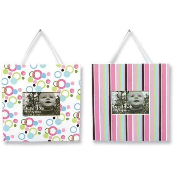 Trend Lab 2-Piece Photo Frame Set - Cupcake