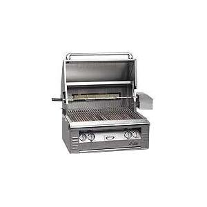 Alfresco AGBQ Classic 30 Inch Propane Gas Grill Built In With Rotisserie
