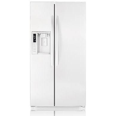 LG LSC27931SW 26.5 Cu. Ft. Side By Side Refrigerator / Freezer With Tall Water & Ice Dispenser And Child Lock Door - White