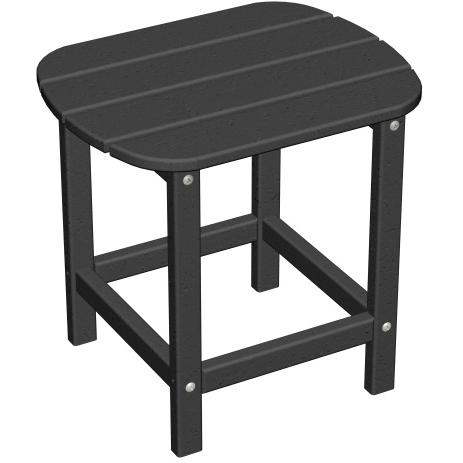Poly-Wood Recycled Plastic Wood South Beach Adirondack End Table - 15 Inch Square