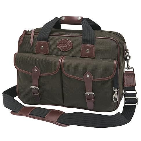 Filson Passage Saddlebag Briefcase Otter Green