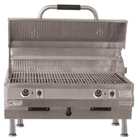 Electri-Chef 32 Inch Dual Control Table Top In Electric Grill