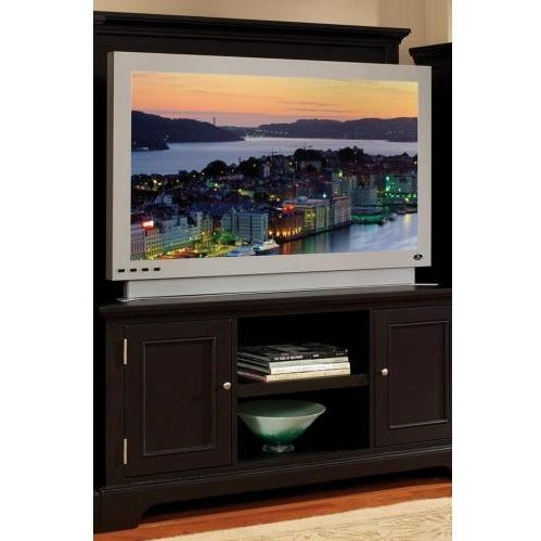 Home Styles Bedford 2 Piece Entertainment Unit - Ebony - 5531-24
