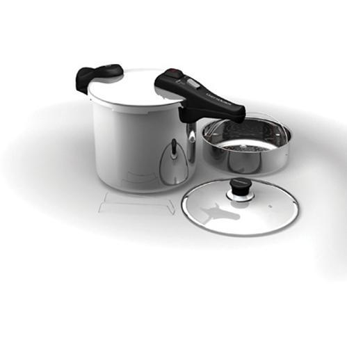 Chefs Design Stainless Steel Pressure Cooker - 8.5 Deep