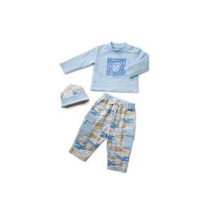 Elegant Baby Camo Fashion Set 12 Month - Blue