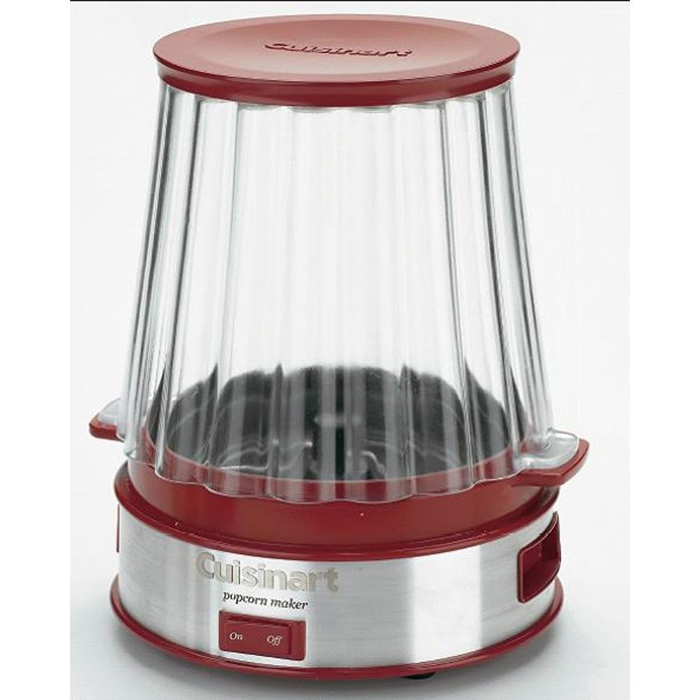 Cuisinart CPM-900 Easy Pop Popcorn Maker Red - Stainless Steel Base