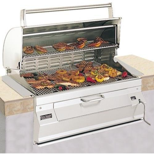 Fire Magic 24 Inch Legacy Built In Charcoal Grill 12-S101C-A