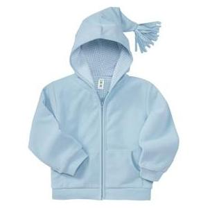 Apples & Oranges Sammi Tassle Hoodie 12-18 Month - Powder Blue