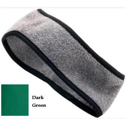 Augusta Chill Fleece Sport Headband Dark Green