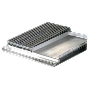 Rocky Mountain Four Burner Griddle/Broiler Side By Side