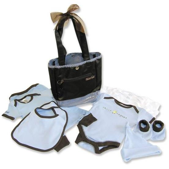Trend Lab 10-Piece Tote Gift Set - Yacht Club