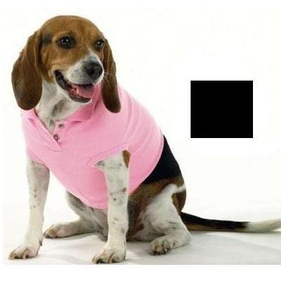 Doggie Skins Polo Shirt Medium - Black