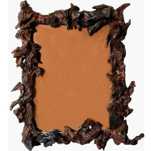 Groovy Stuff Teak Wood Jericho Mirror Rectangle - WA-153