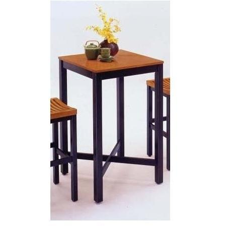 Home Styles Bar Table With Veneer Top - Oak/Black - 5983-35