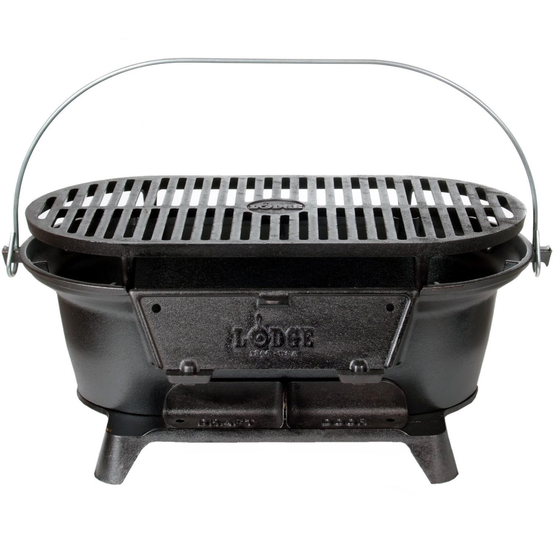 Lodge Sportsman Hibachi Charcoal Grill - L410