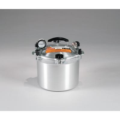 Chefs Design Cast Aluminum All-American Cooker/Canner With Rack - 10.5 Qt. Liquid Capacity