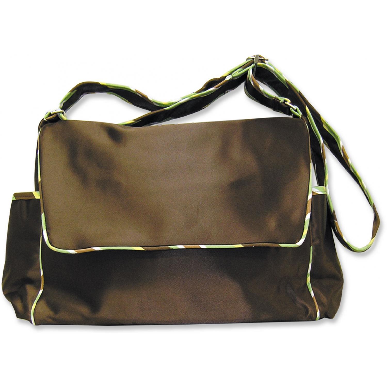 Trend Lab Messenger Diaper Bag - Giggles