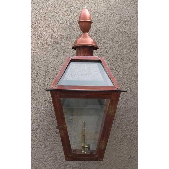 Regency GL18CT Beaumont II Natural Gas Light With Open Flame Burner And Electronic Ignition On Wall Mount