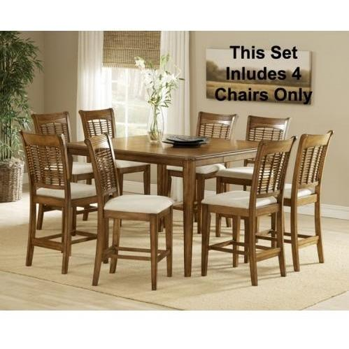 Hillsdale Bayberry 5-piece Counter Height Dining Set - Oak - 4766dtbsg5