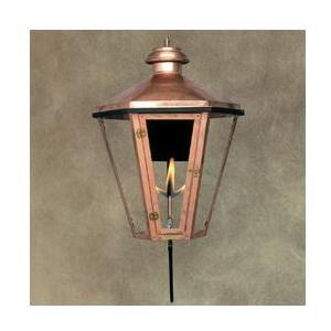 Legendary Lighting Apollo 1 Copper Natural Gas Light With Wall Bracket And Electronic Ignition