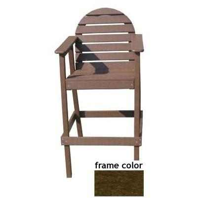 Eagle One Recycled Plastic Captains Chair - Brown