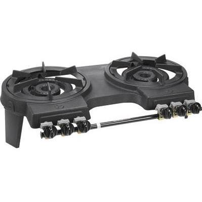 Portable Cast Iron Double Burner