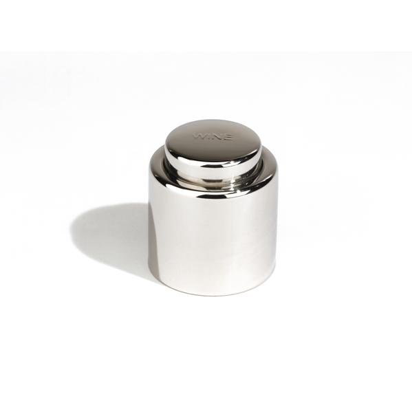 Outset Stainless Steel Wine Stopper W/ Lock
