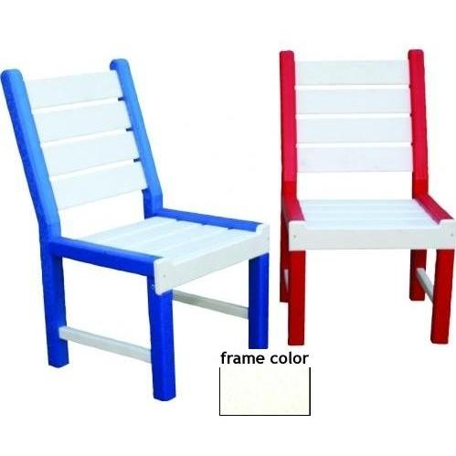 Eagle One Recycled Plastic Kids Chair - White